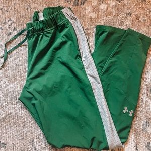 Under armor sweatpants/ joggers forest green